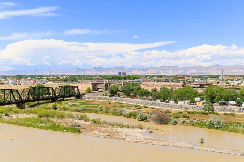 Opinión de Grand Junction imagenes de archivo