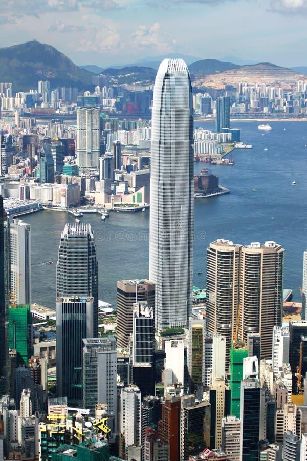 Opinión de Hong-Kong fotos de archivo