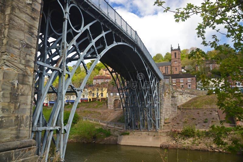 Opinión de Ironbridge foto de archivo libre de regalías