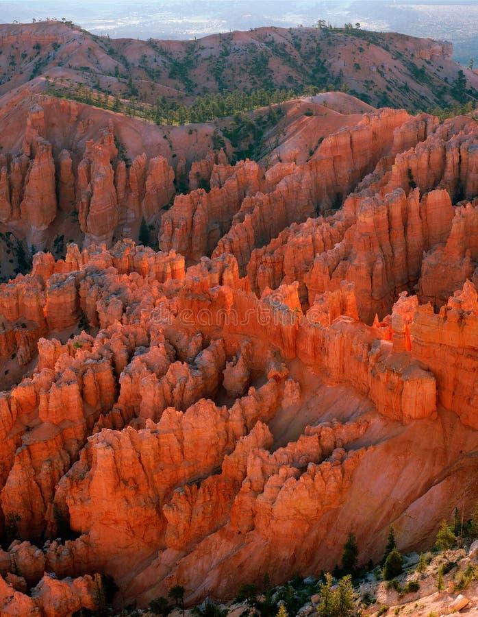 Download Opinión De La Barranca De Bryce De La Punta De Bryce Imagen de archivo - Imagen de roca, rojo: 176657
