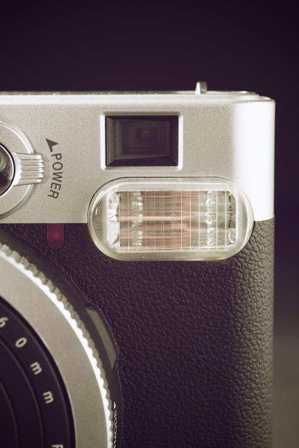 Opinión de la cámara del vintage imagen de archivo
