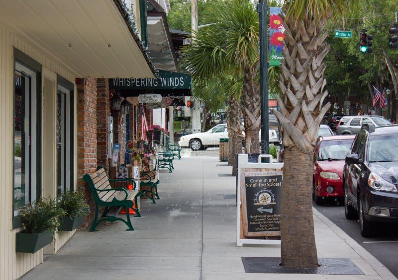 Opinión de la calle de la ciudad de Dora del soporte imagen de archivo libre de regalías