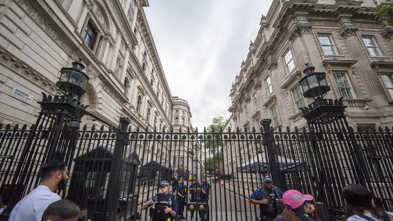 Opinión de la calle de Londres imágenes de archivo libres de regalías