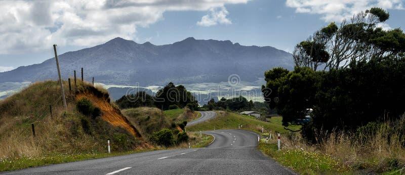Opinión de la carretera nacional foto de archivo