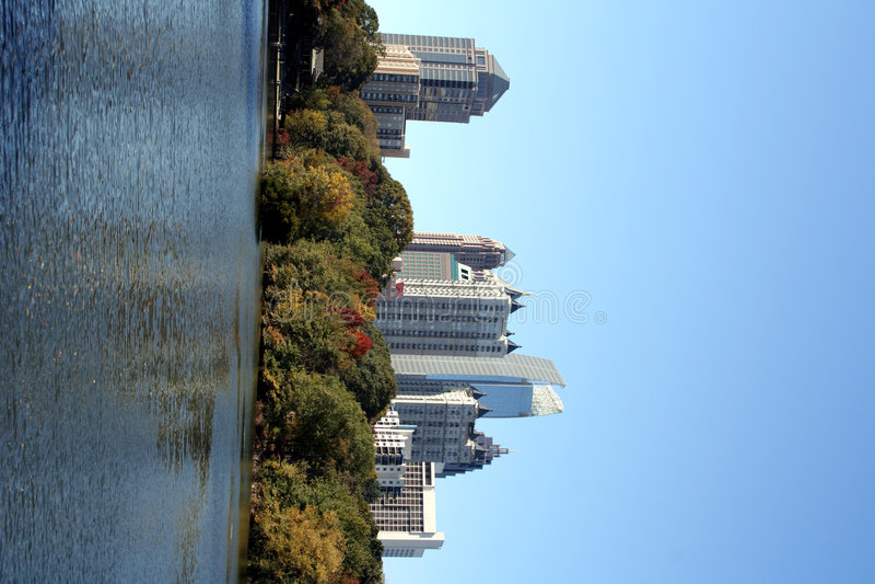 Opinión de la ciudad imagen de archivo