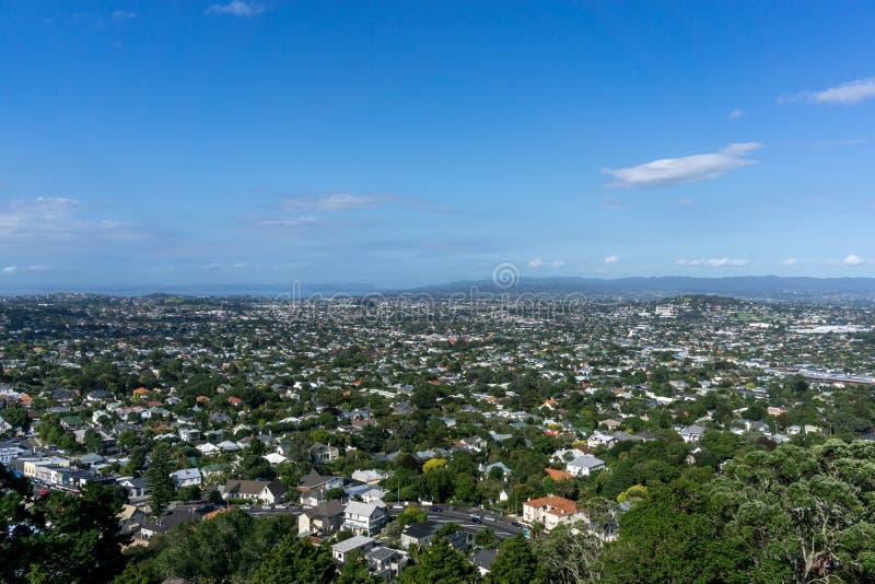 Opinión de la ciudad de Auckland imagenes de archivo