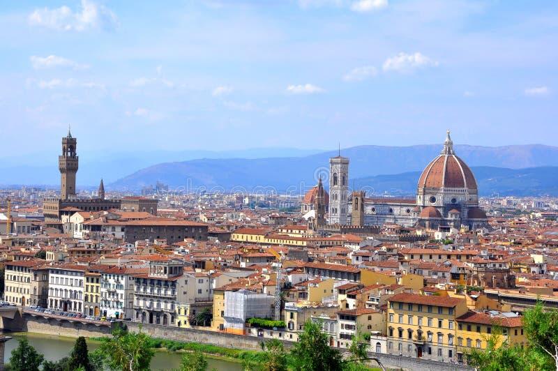Opinión de la ciudad de Florencia, Italia fotos de archivo libres de regalías