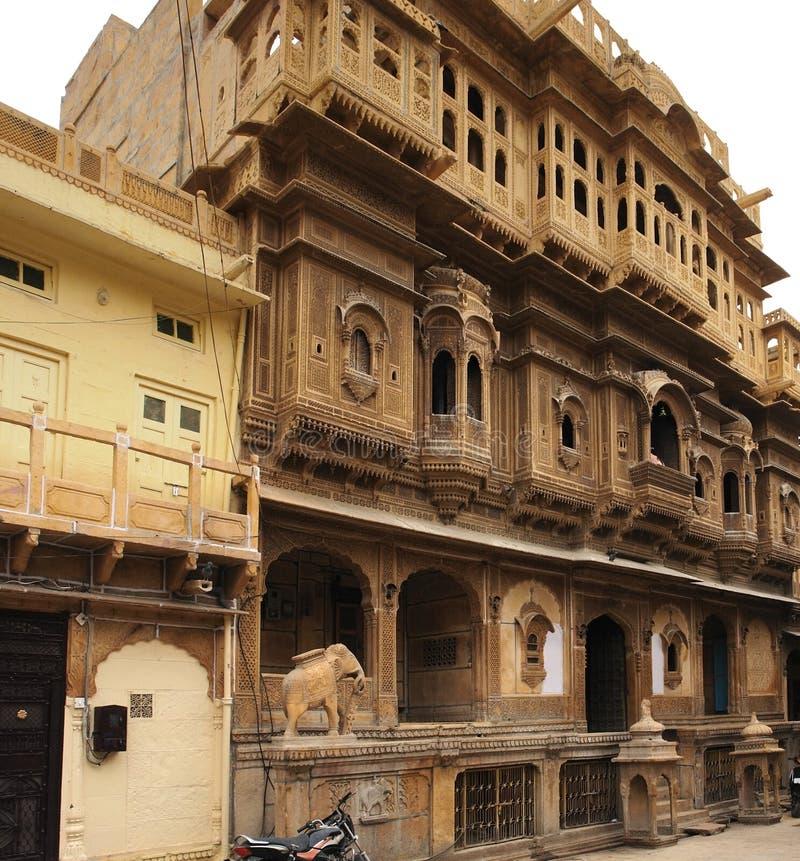 Opinión de la ciudad de Jaisalmer foto de archivo libre de regalías