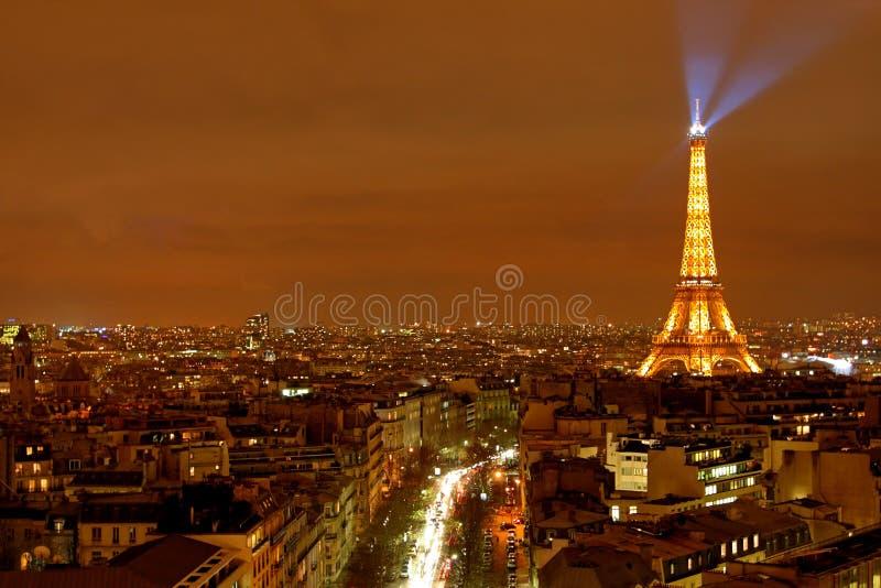 Opinión de la ciudad de París foto de archivo libre de regalías