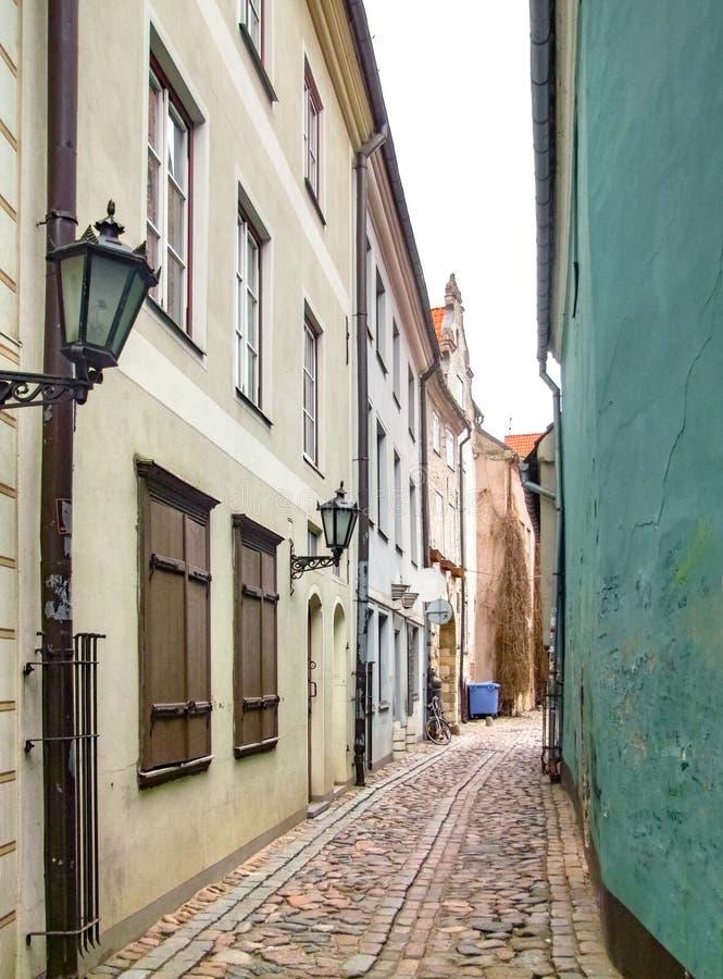 Opinión de la ciudad de Riga imágenes de archivo libres de regalías