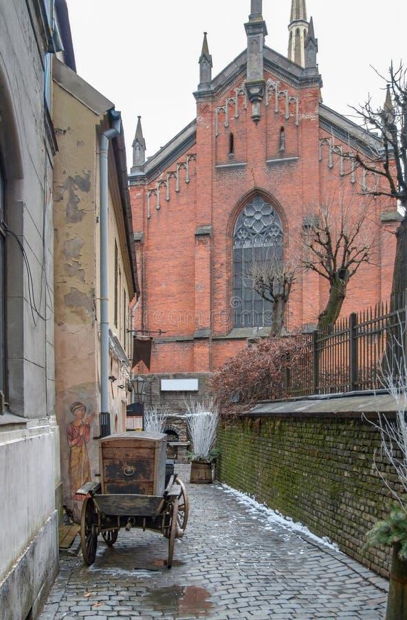 Opinión de la ciudad de Riga foto de archivo libre de regalías