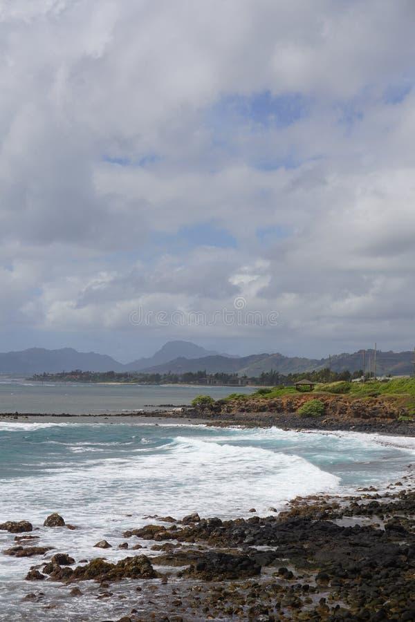 Opinión de la costa imagen de archivo libre de regalías