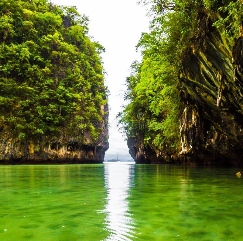 Opinión de la isla de Hong dentro de la isla foto de archivo libre de regalías