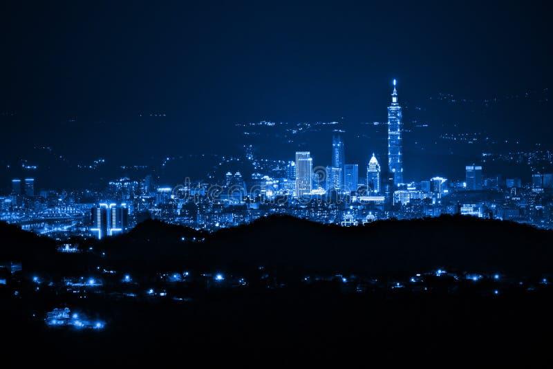 Opinión de la noche fotografía de archivo