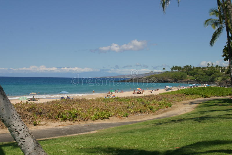 Opinión de la playa de la isla fotografía de archivo libre de regalías