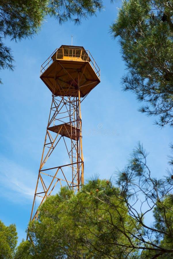 Opinión de la torre del reloj imagen de archivo