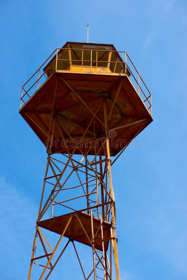 Opinión de la torre del reloj imagen de archivo libre de regalías