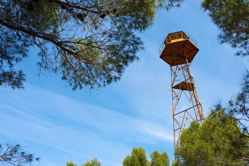 Opinión de la torre del reloj foto de archivo
