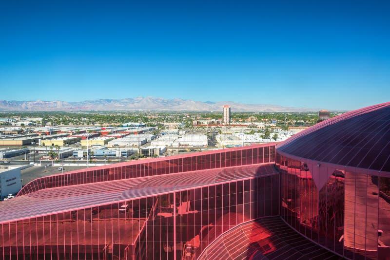 Opinión de Las Vegas del circo del circo foto de archivo