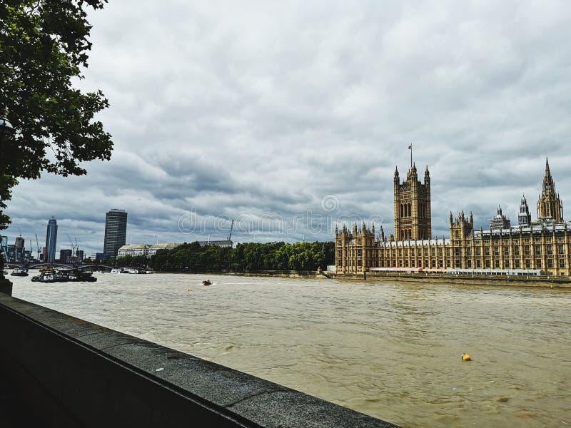 Opinión de Londres imagen de archivo