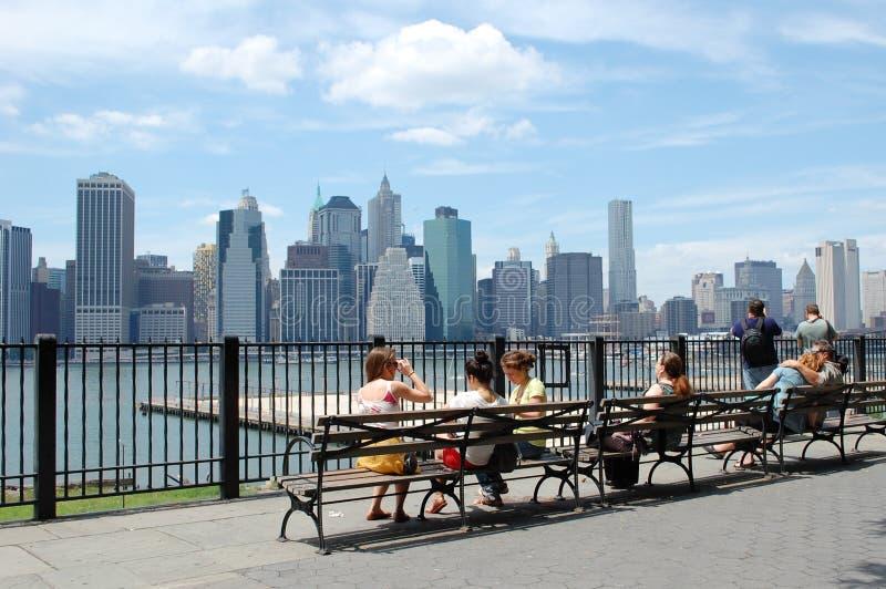 Opinión de New York City fotos de archivo libres de regalías