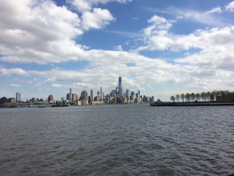 Opinión de New York City fotos de archivo