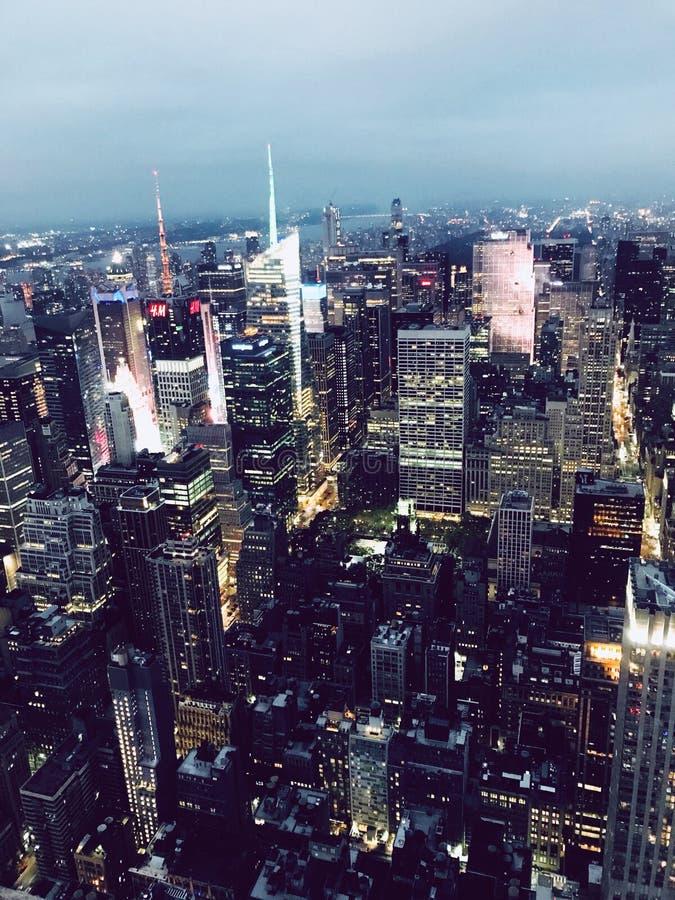 Opinión de Nueva York imagen de archivo