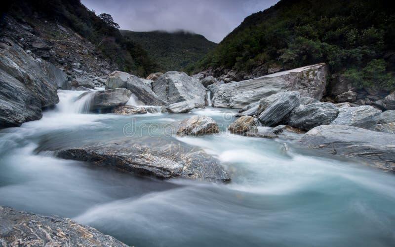 Opinión de Nueva Zelanda imágenes de archivo libres de regalías