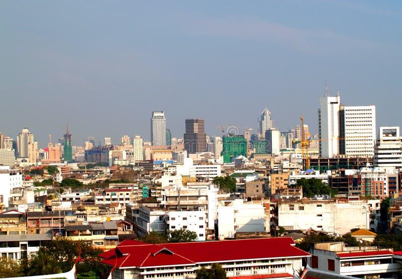 Opinión de ojo de pájaro de Bangkok 05 fotos de archivo libres de regalías