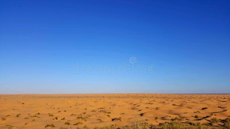 Opinión de Sáhara fotografía de archivo libre de regalías
