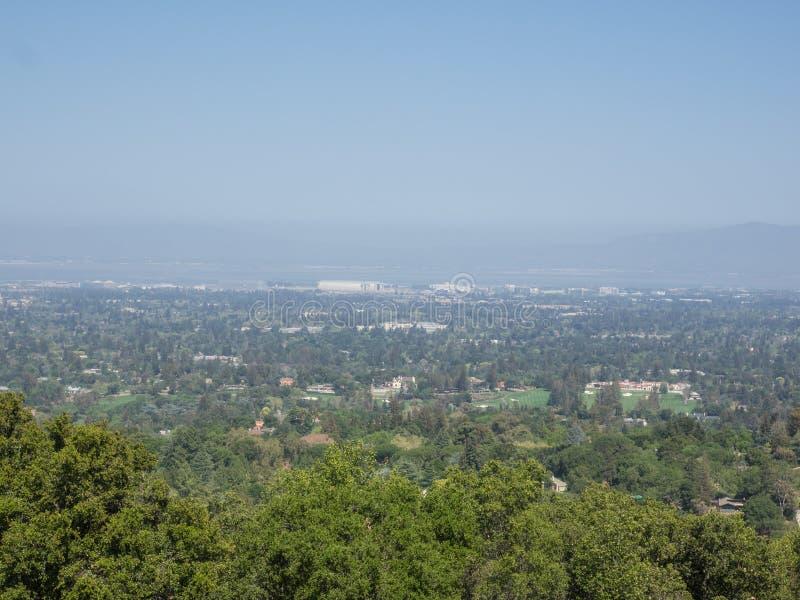 Opinión de Silicon Valley imágenes de archivo libres de regalías
