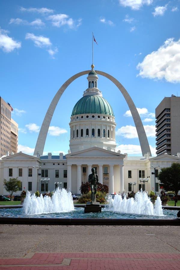 Opinión de St. Louis fotos de archivo