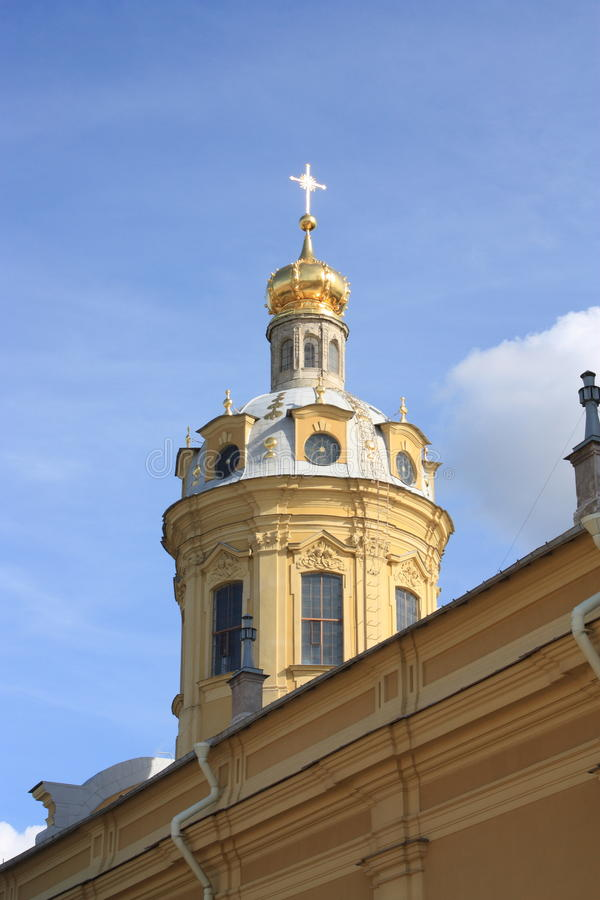 Opinión de St Petersburg. fotos de archivo libres de regalías