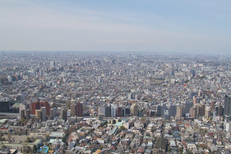 Opinión de Tokio fotos de archivo