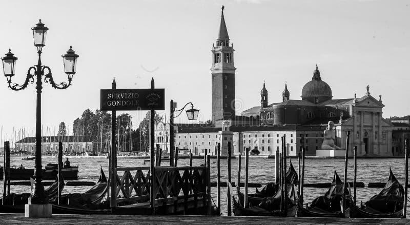 Opinión de Venecia fotografía de archivo