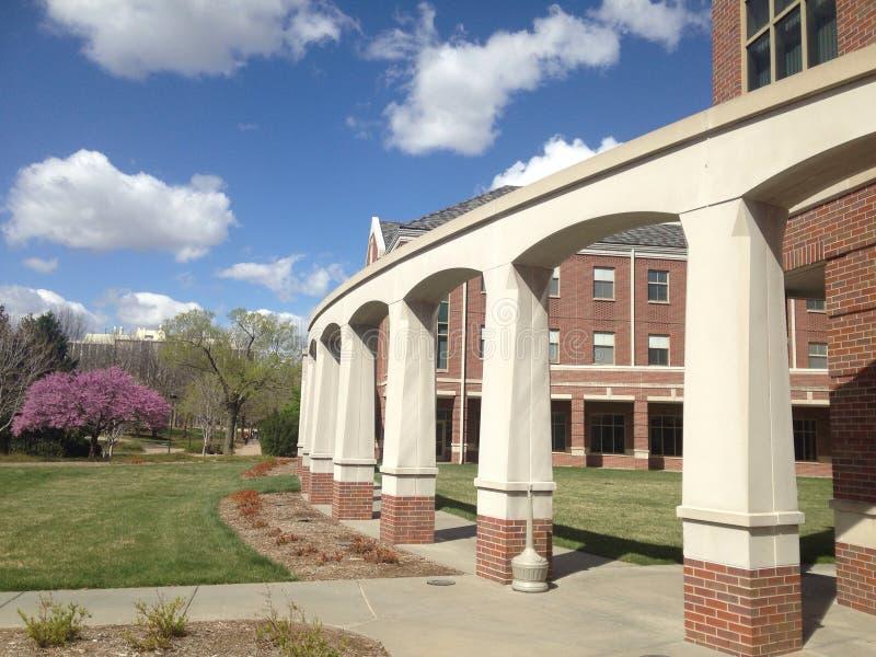 Opinión del campus imagenes de archivo