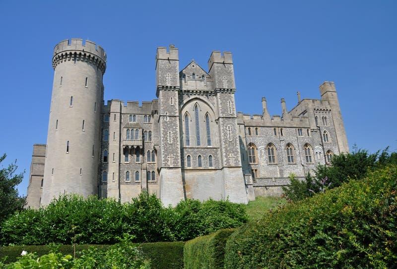 Opinión del castillo de Arundel imagen de archivo