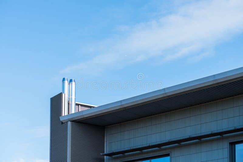 Opinión del día soleado del edificio de oficinas corporativo del negocio moderno en Northampton Inglaterra Reino Unido fotografía de archivo libre de regalías