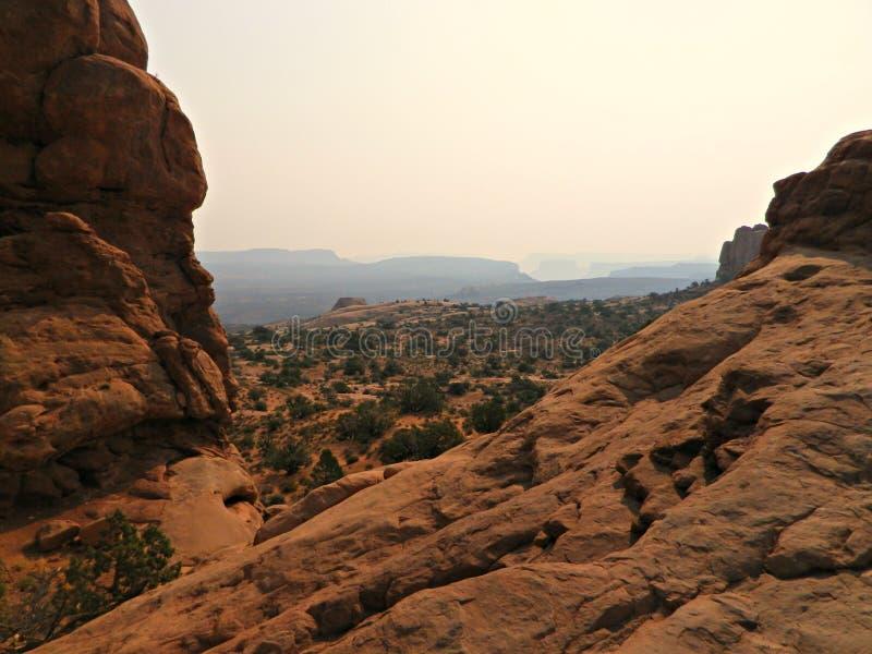 Opinión del desierto fotografía de archivo libre de regalías