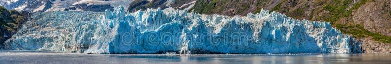 Opinión del glaciar del sonido de príncipe Guillermo de Alaska imagen de archivo