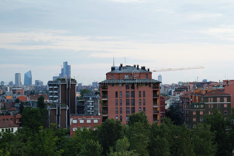 Opinión del horizonte de la ciudad imágenes de archivo libres de regalías