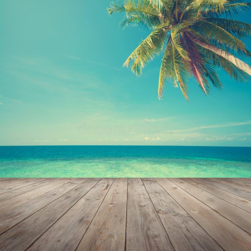 Opinión del mar del verano foto de archivo libre de regalías