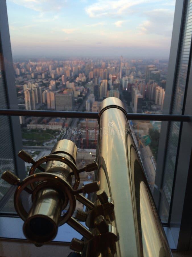 Opinión del norte de Pekín foto de archivo