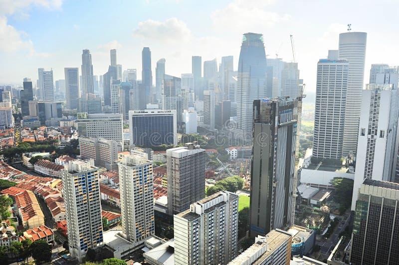 Singapur soleado imagen de archivo libre de regalías