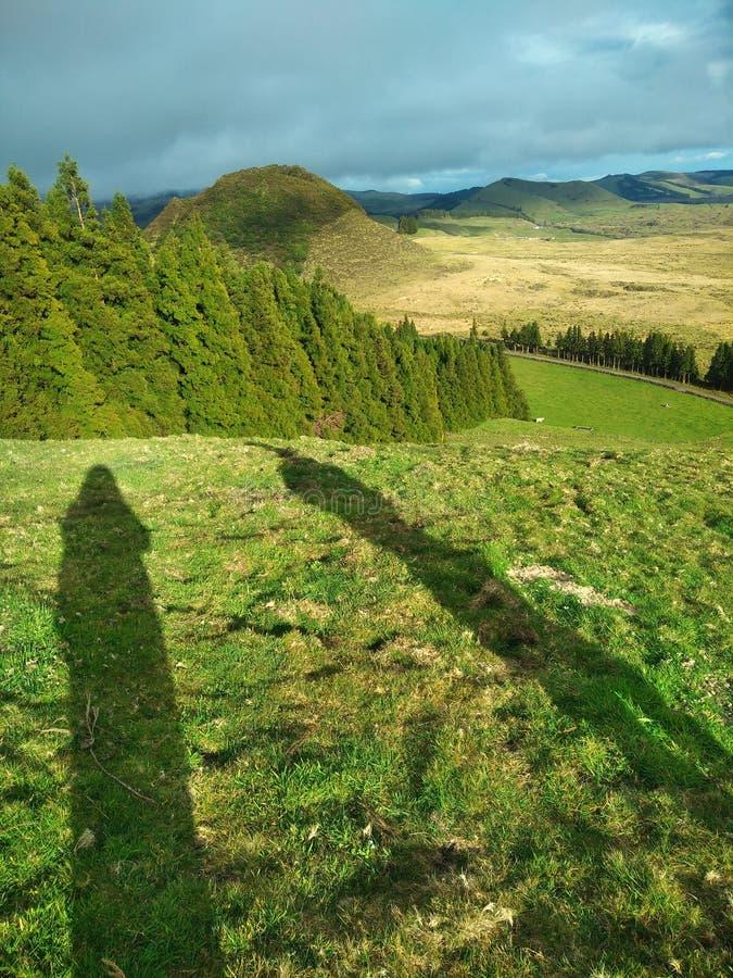 Opinión del paisaje foto de archivo