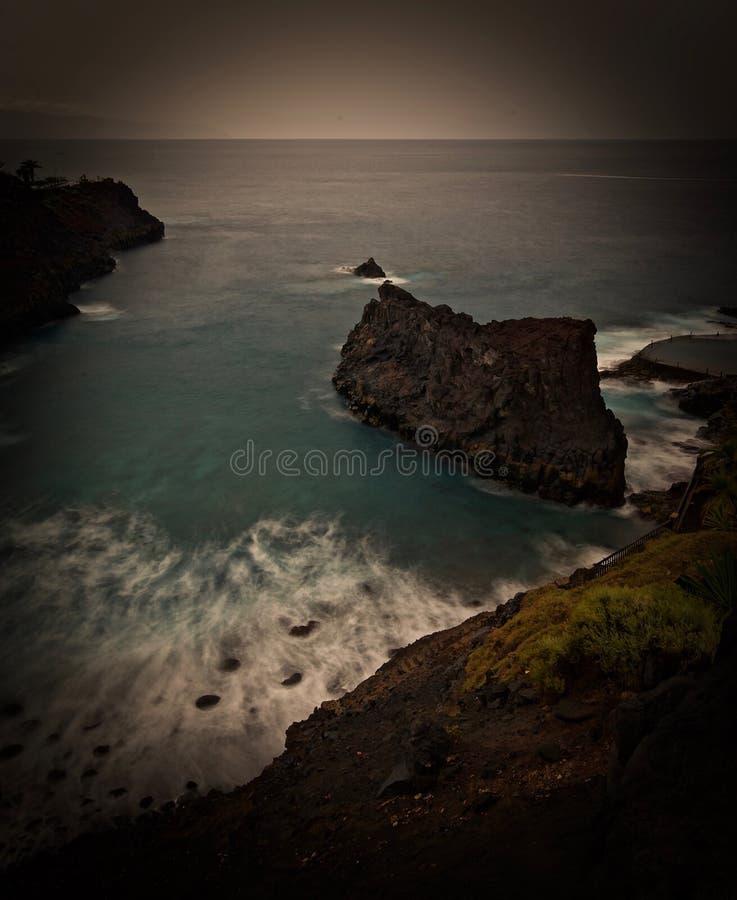 Opinión del paisaje marino imágenes de archivo libres de regalías