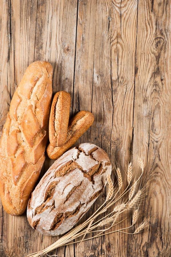 Opinión del pan desde arriba fotografía de archivo libre de regalías