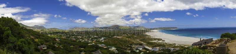 Opinión del panorama de la playa de Ciudad del Cabo fotos de archivo