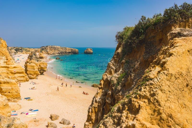 Opinión del paraíso de la playa fotos de archivo libres de regalías