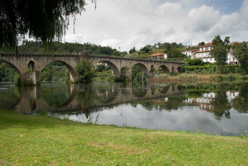 Opinión del puente imagen de archivo libre de regalías